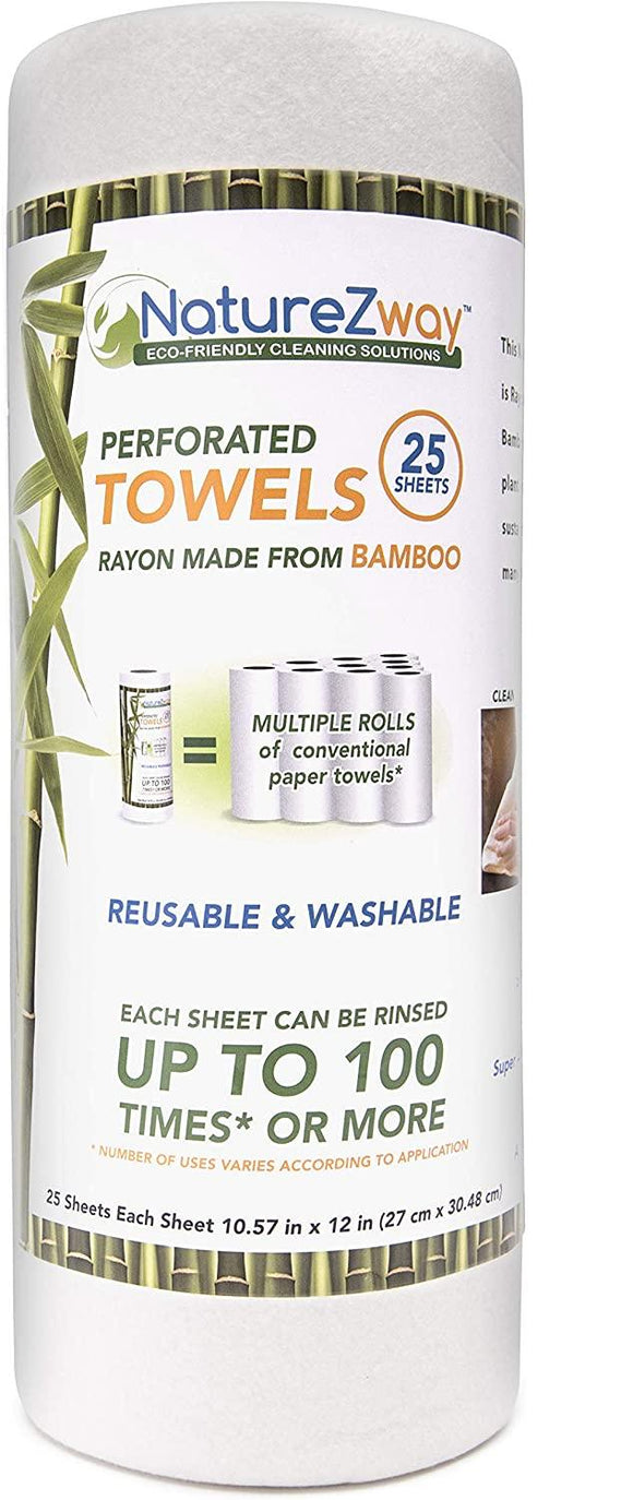 Bamboo REUSABLE Paper Towels