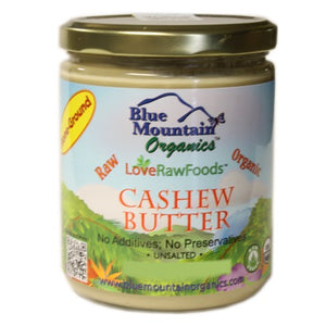Raw Organic Cashew Butter -- Blue Mountain
