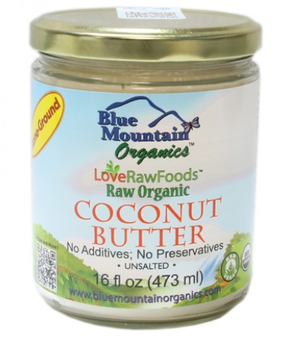 Raw Organic Coconut Butter (16 oz) -- Blue Mountain
