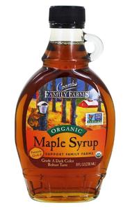 Maple Syrup -- 8 fl oz Organic