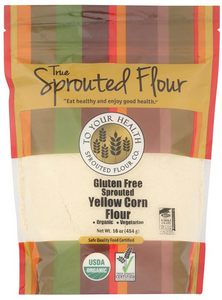 Sprouted Yellow Corn Flour -- Gluten Free