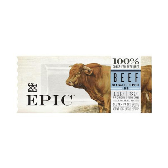 Epic Bar -- Beef, Sea Salt & Pepper