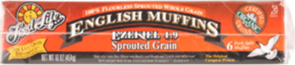 Ezekiel 4:9 Sprouted English Muffins