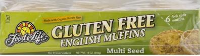 Gluten Free Multiseed English Muffins