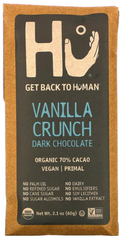 HU Chocolate -- Vanilla Crunch
