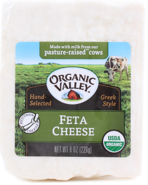 Organic Cow's Milk Feta -- Organic Valley