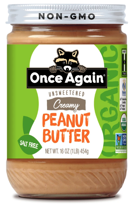 Peanut Butter -- Once Again brand (16oz)