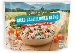 Riced Cauliflower, Sweet Potato, & Kale