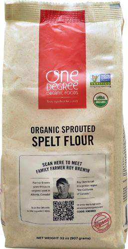 Sprouted Organic Spelt Flour -- 5 lb