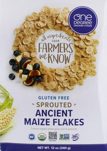 Sprouted Ancient Maize Flakes -- Gluten Free
