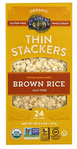 Thin Stackers Brown Rice Cakes