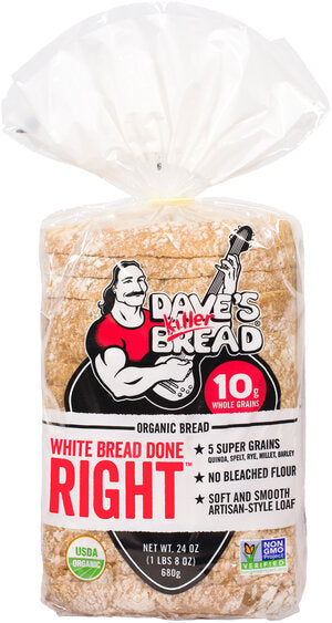 White Bread Done Right -- Dave's Killer Bread