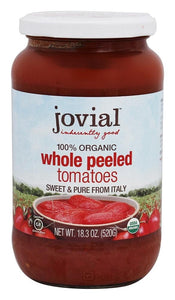 Whole Peeled Tomatoes -- Jovial Brand Organic