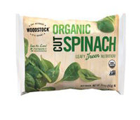 Spinach -- Woodstock Cut Spinach