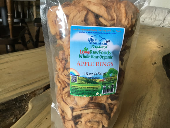 Apple Rings -- Blue Mountain Organics