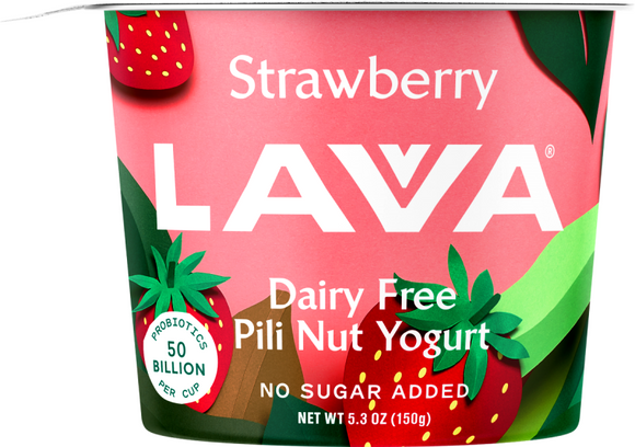 Strawberry Lavva Yogurt