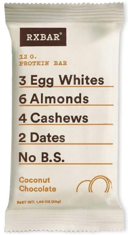 Coconut Cacao RxBar Protein Bar