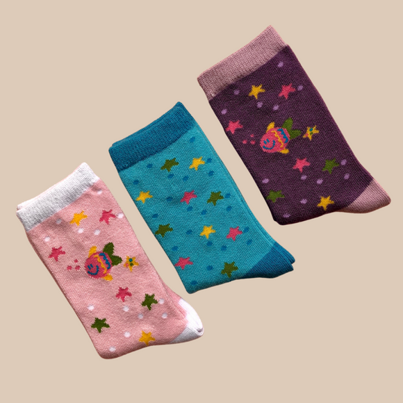 Under the Sea Kids Sock | 3 Pack
