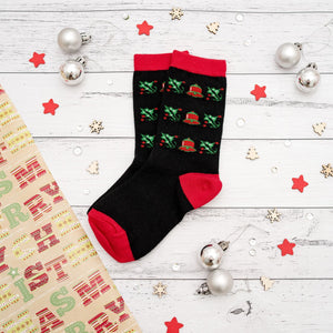 Christmas Socks | Kids + Adults | Mistletoe Pair