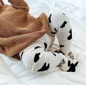 Baby Moo Cotton Tights