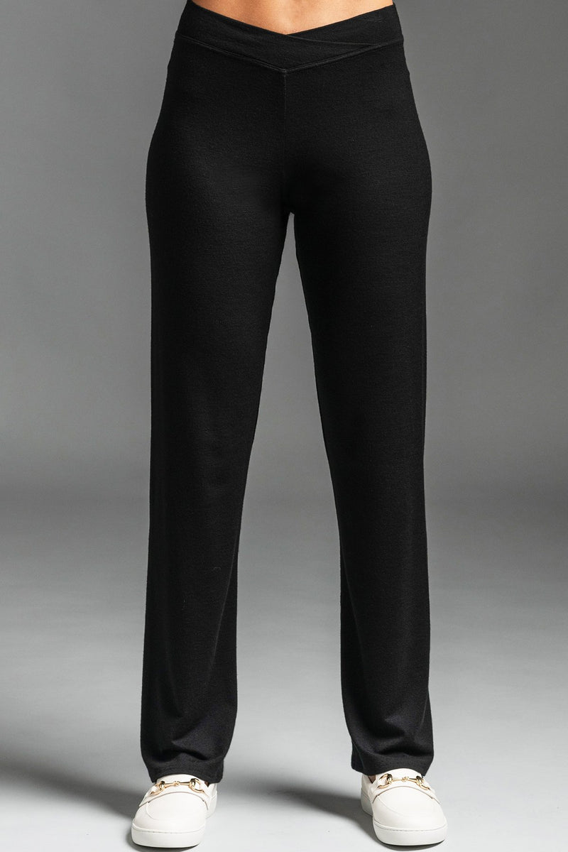 PAULA RYAN ESSENTIALS Narrow Leg Waistband Pant - Merino - Pant - Paula Ryan Essentials - Paula Ryan
