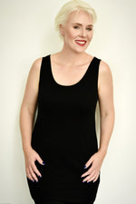 PAULA RYAN ESSENTIALS Easy Fit Singlet - Long - Micromodal - Top - Paula Ryan Essentials - Paula Ryan