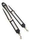 PAULA RYAN Shoulder Bag Strap - Silver Stripe - Paula Ryan