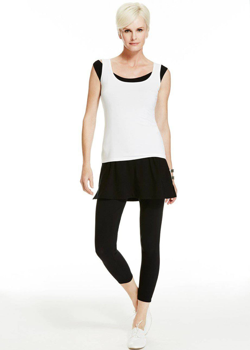 PAULA RYAN ESSENTIALS Capri Legging - Classic Microjersey - Pant - Paula Ryan Essentials - Paula Ryan