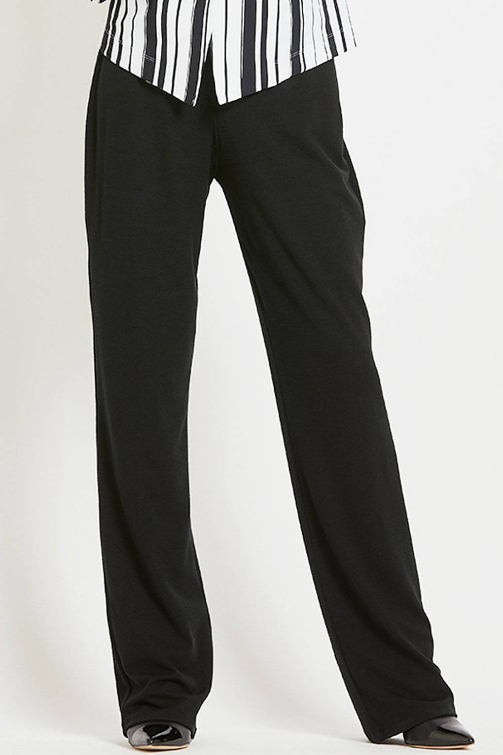 PAULA RYAN Tailored Pant - Microjersey - Pant - Paula Ryan Fashion Collection - Paula Ryan