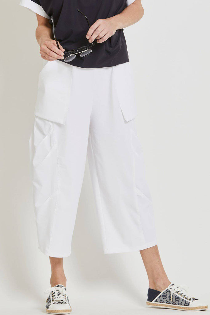 PAULA RYAN Tokyo Panel Pant - Microjersey - Pant - Paula Ryan Fashion Collection - Paula Ryan