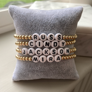 Custom Message Bracelets