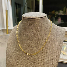 Load image into Gallery viewer, Staple Chain Necklace
