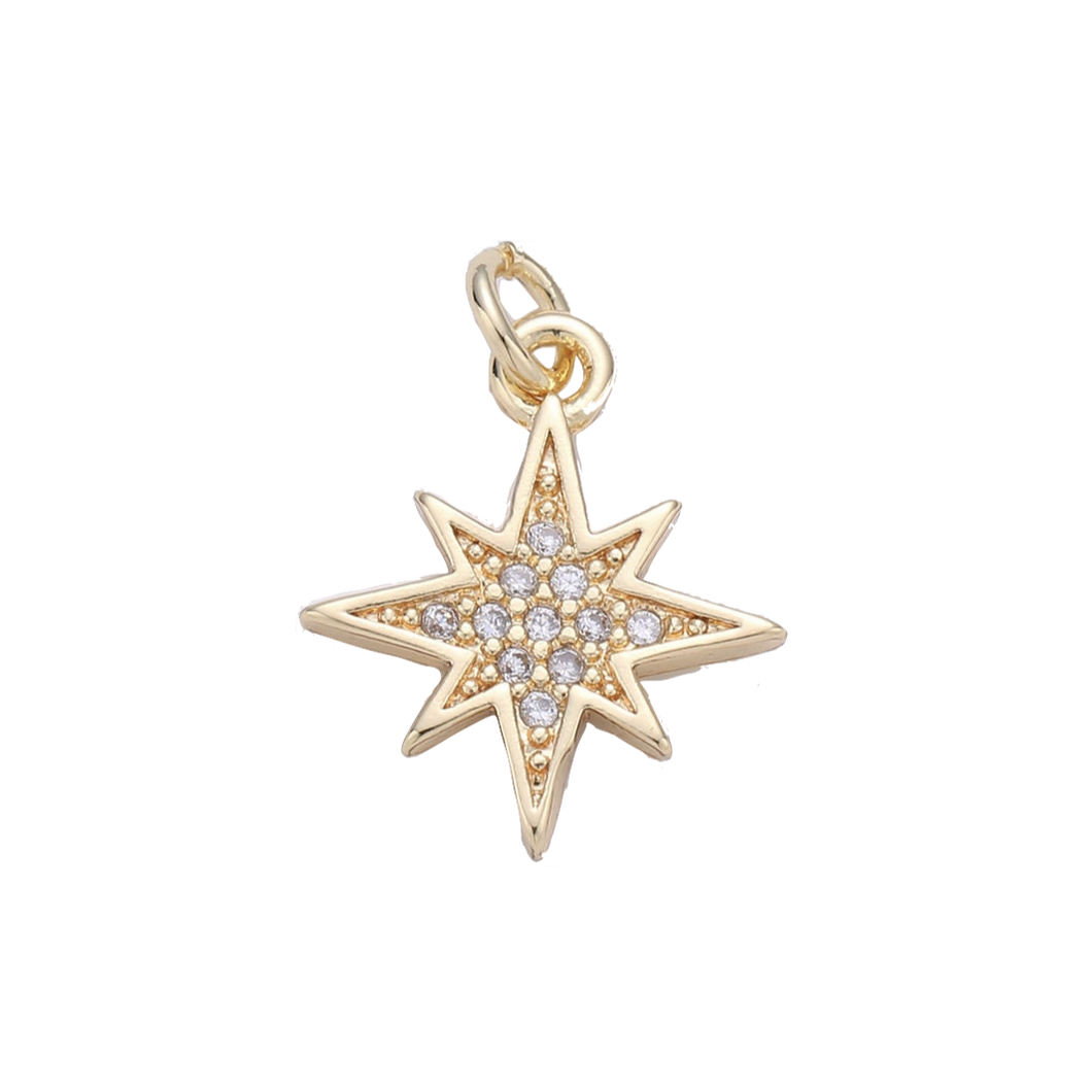 Starburst Charm - Charmed Life Jewelry