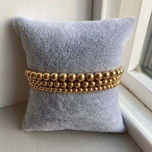 Gold Beaded Bracelet - Charmed Life Jewelry
