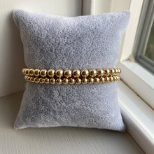 Load image into Gallery viewer, Gold Beaded Bracelet - Charmed Life Jewelry