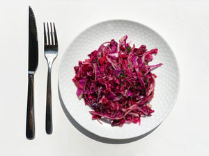 Pineapple Purple Slaw