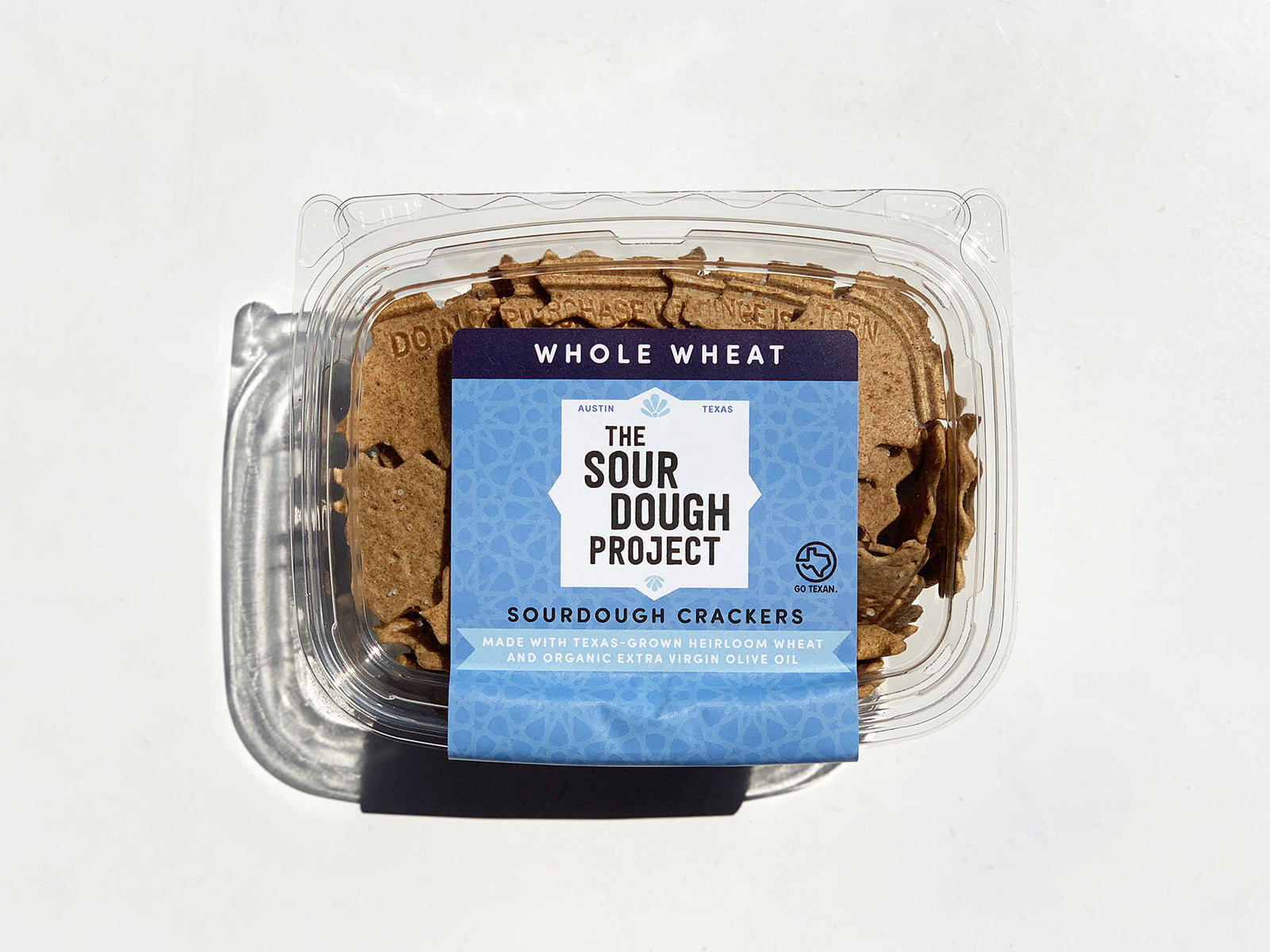 The Sourdough Project crackers in Whole Wheat flavor