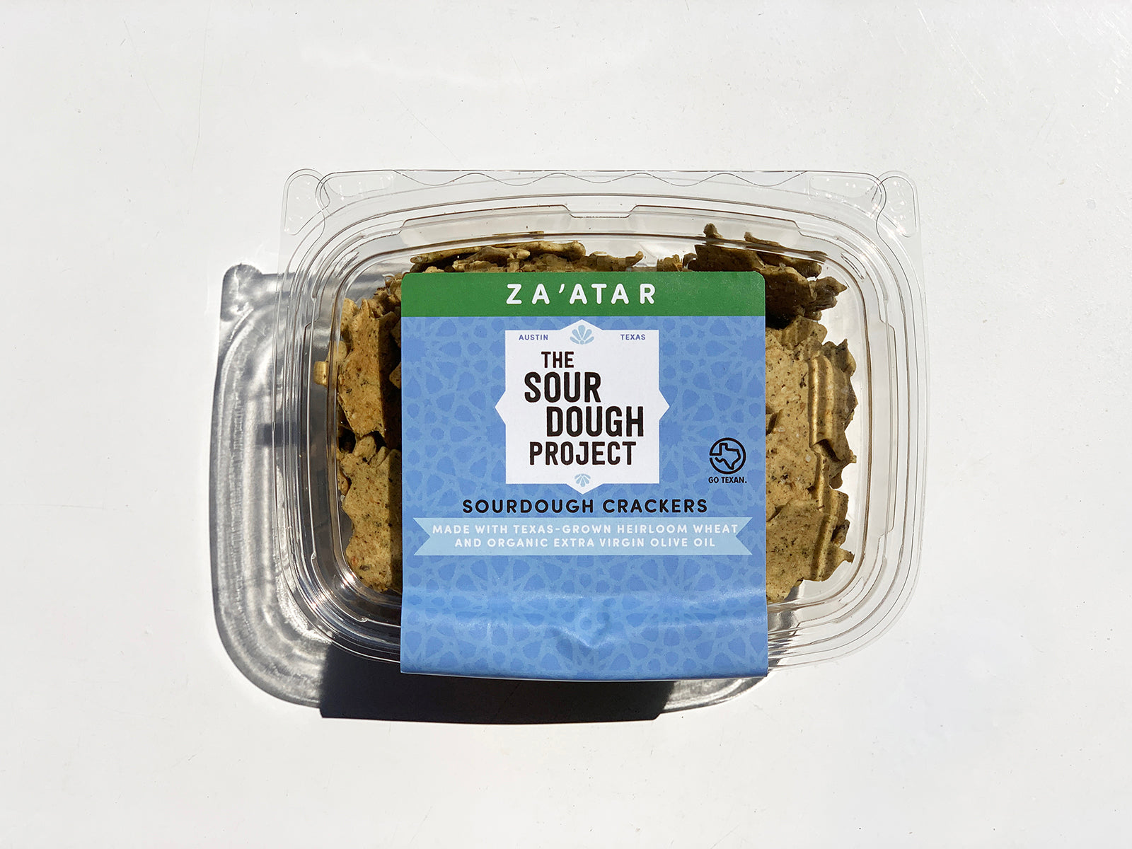 The Sourdough Project crackers in Za'atar flavor