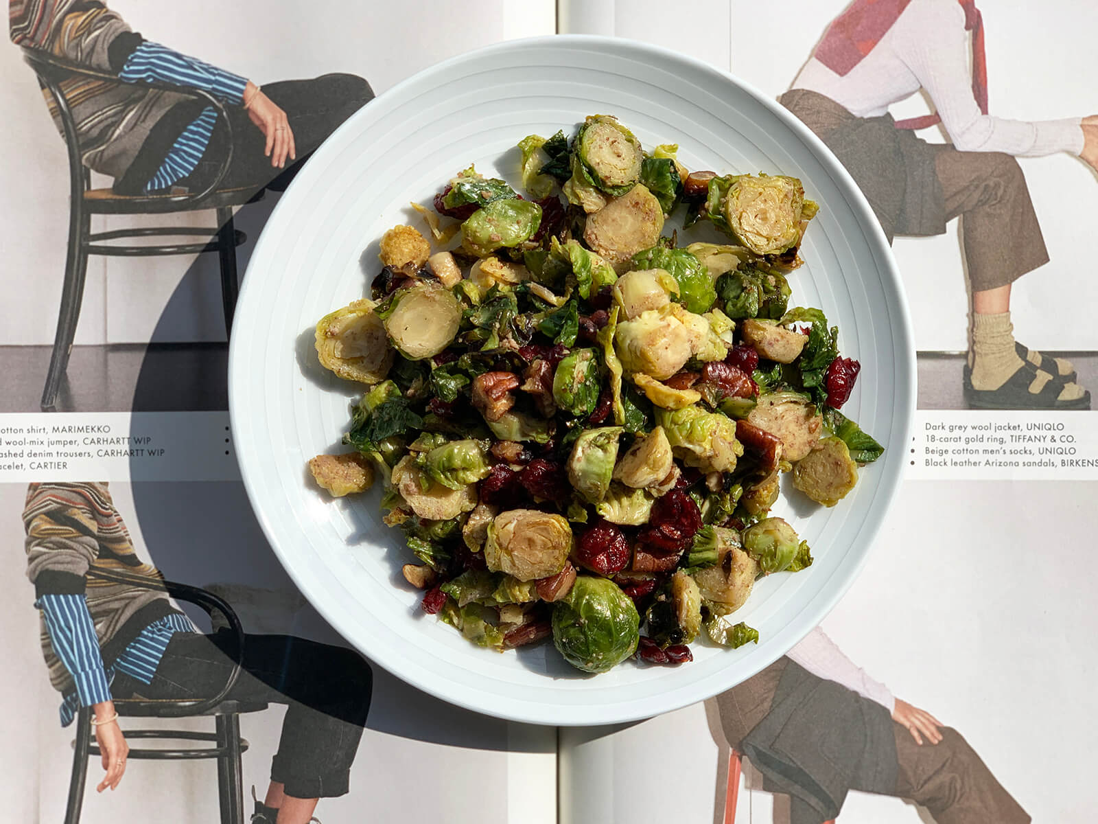 Pecan & Cran Brussels Sprouts