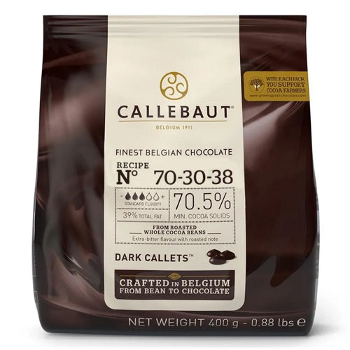Chocolate Moedas Dark 70-30-38 400g Barry Callebaut