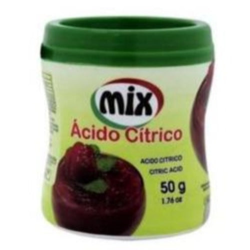 Acido cítrico 50g Mix