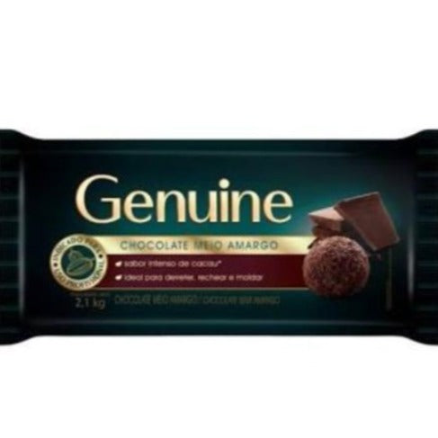 Chocolate Genuine 1Kg Meio Amargo Cargill