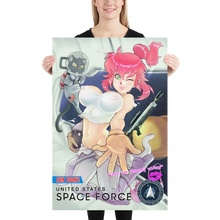 Load image into Gallery viewer, Space Force Recruitment Poster ft. Lexi