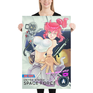 Space Force Recruitment Poster ft. Lexi