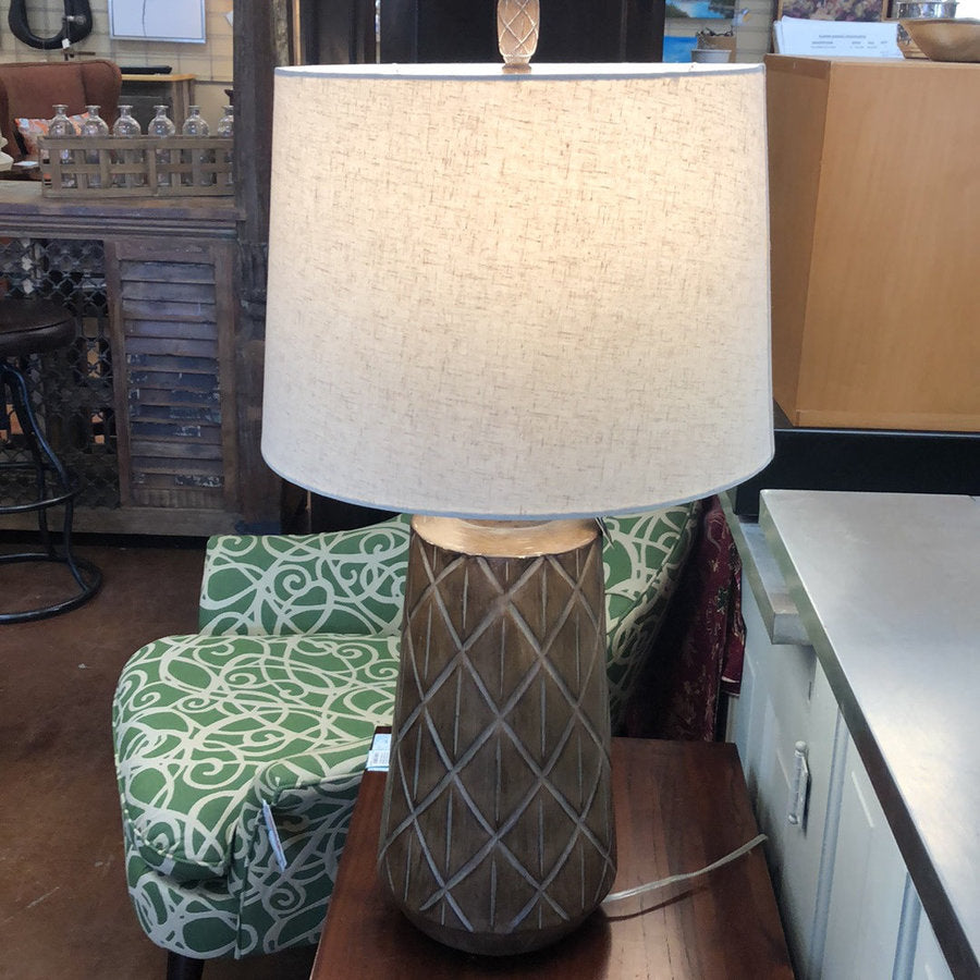 "Roanoke 34"" Cast Body Table Lamp"