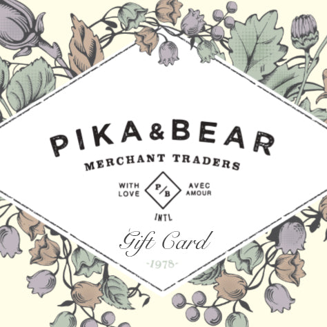 Pika & Bear Merchant Traders Gift Card