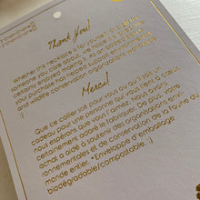 Load image into Gallery viewer, Pika and Bear Necklace Gift Packaging in Gold