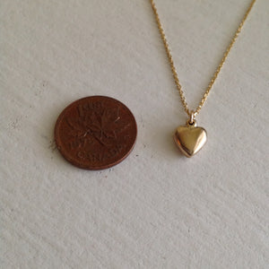 Gold Filled Heart Necklace