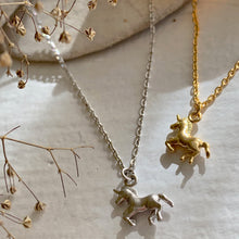 Load image into Gallery viewer, Unicorn Charm Necklace
