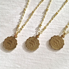 Load image into Gallery viewer, Zodiac Sign Astrological Charm Necklace Collection Pisces